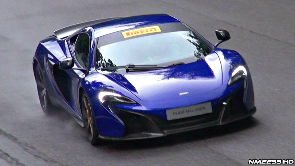 McLaren 650S Starts, Revs, Accelerations and Fly Bys