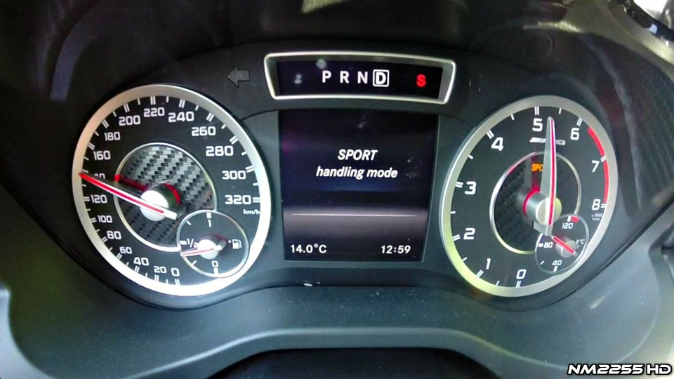 Mercedes A45 AMG Launch Control 0-150 km/h
