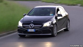 Mercedes A45 AMG Performance Exhaust Sound – Tunnels, Accelerations, Revs & More!