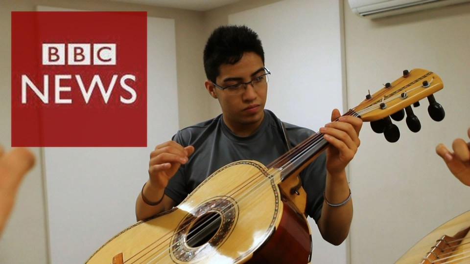 Mexico's top mariachi schools – BBC News