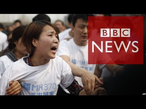 MH370 relatives demand 'answers' during protest in Beijing – BBC News