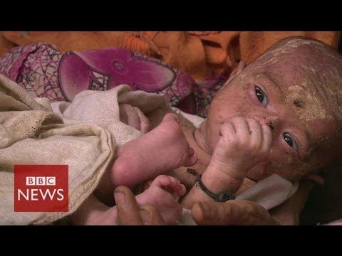 Myanmar: Inside 'abandoned' Rohingya camp – BBC News