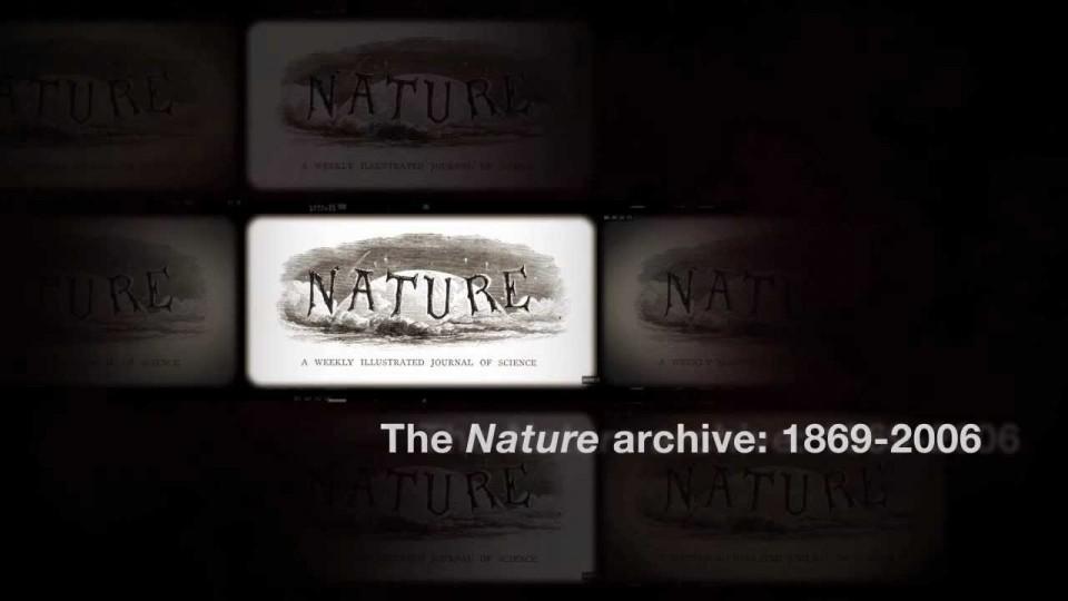 Nature archive: 1869-2006