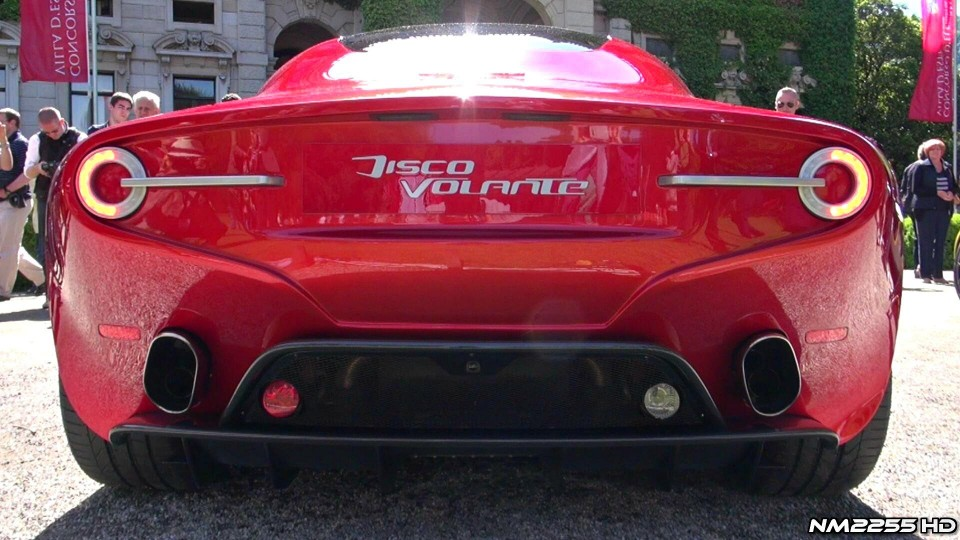 New Alfa Romeo Disco Volante V8 AMAZING Sound!