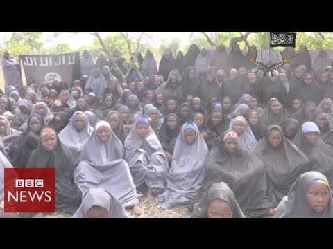 NEW: Nigeria girls 'shown' in Boko Haram video – BBC News