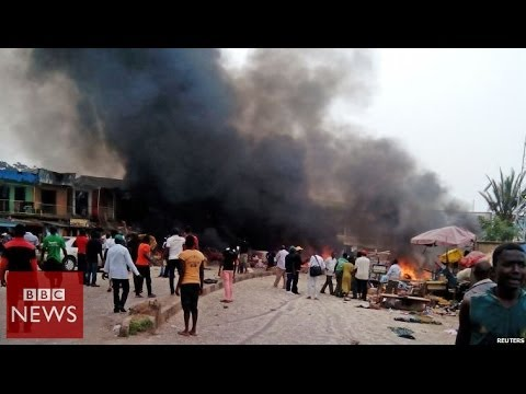 Nigeria bombings: 'Death toll passes 100′ – BBC News