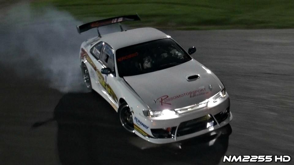 Nissan Silvia S14 Turbo Drifting!