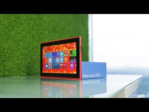 Обзор планшета Nokia Lumia 2520