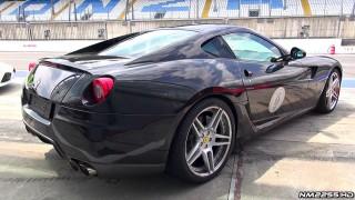 Novitec Rosso Ferrari 599 GTB LOUD Sound!
