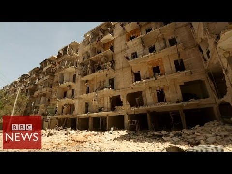 'Nowhere is safe in Aleppo' – BBC News