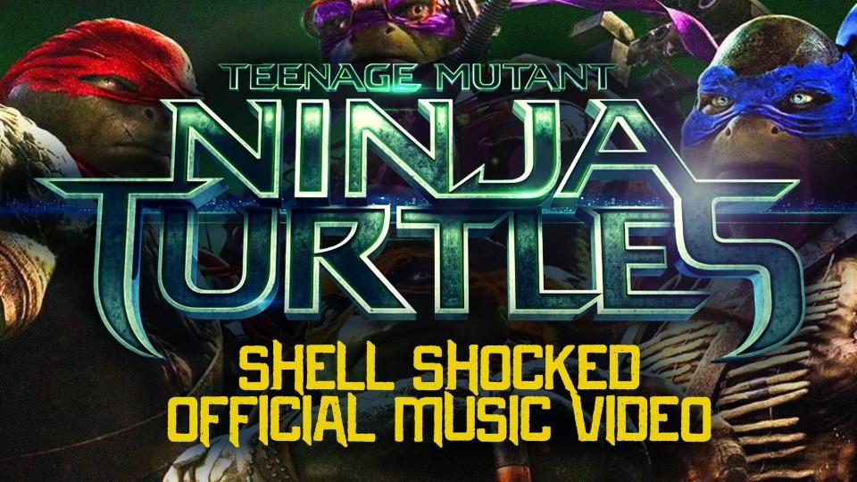 "Official Video for Teenage Mutant Ninja Turtles ""Shell Shocked"" Rap"