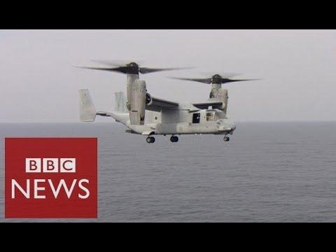 On board US war games ship – BBC News