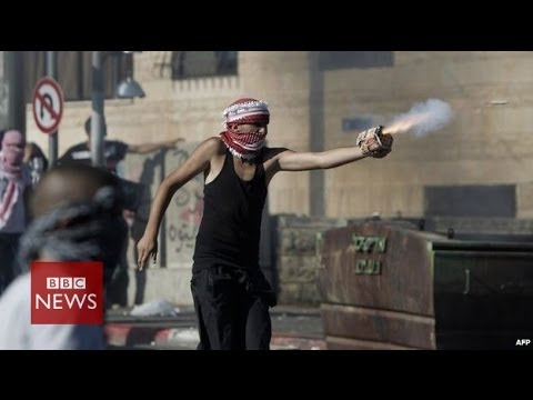 On the frontline in East Jerusalem – BBC News