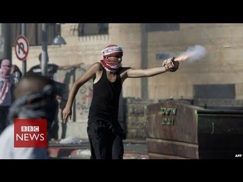 On the frontline in East Jerusalem – BBC News
