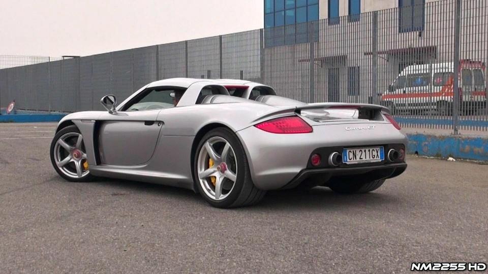 Porsche Carrera GT Exhaust Revs – Lovely Sound!
