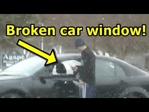 Pranked : Fake Car Break-in Prank