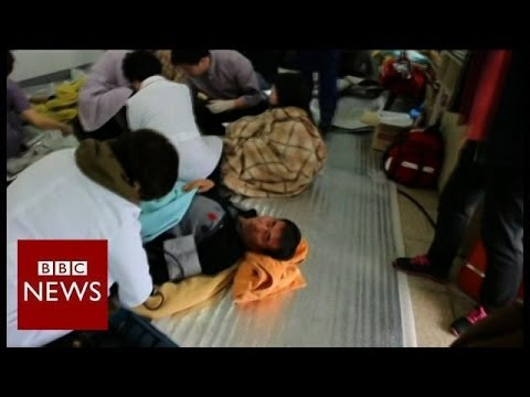 "President accusses South Korea ferry captain of ""murder"" – BBC News"