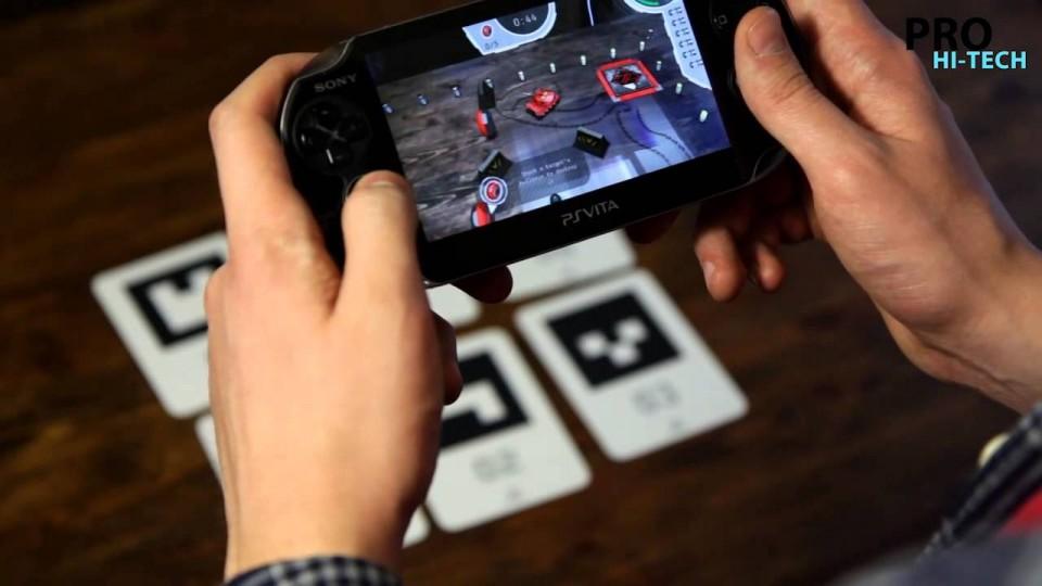 Лучшие игры для PS Vita #7 Дополненная реальность