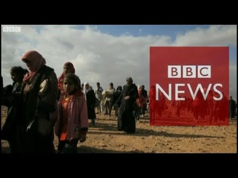 Pulitzer Prize-winner photographs Syrian refugees in Jordan – BBC News