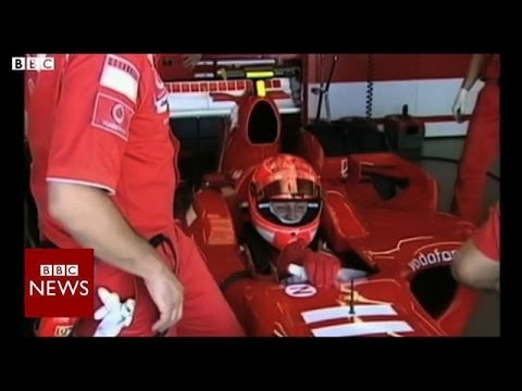 "Racing legend Michael Schumacher ""out of coma"" – BBC News"