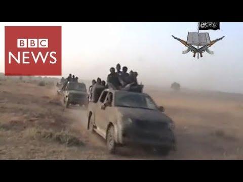 Rare video shows Boko Haram attack – BBC News