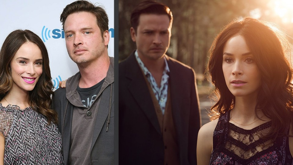 Rectify's Aden Young and Abigail Spencer Get Silly – PEOPLE