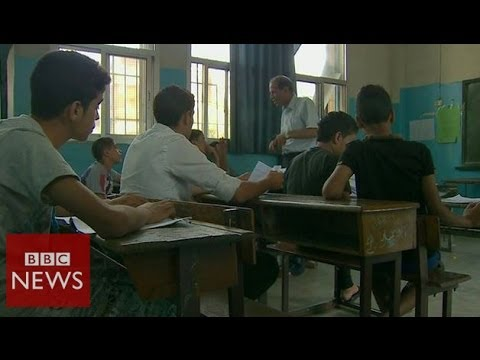 Returning to Damascus for exams – BBC News