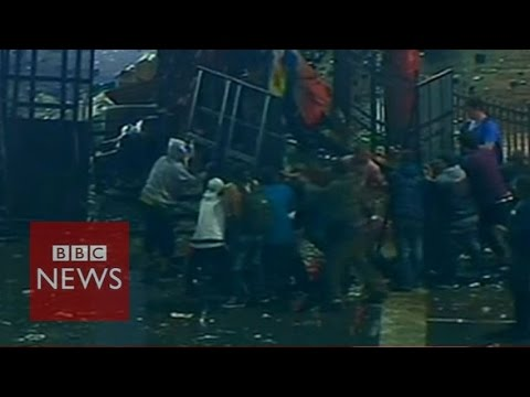 Riots in Buenos Aires after Argentina's World Cup defeat – BBC News