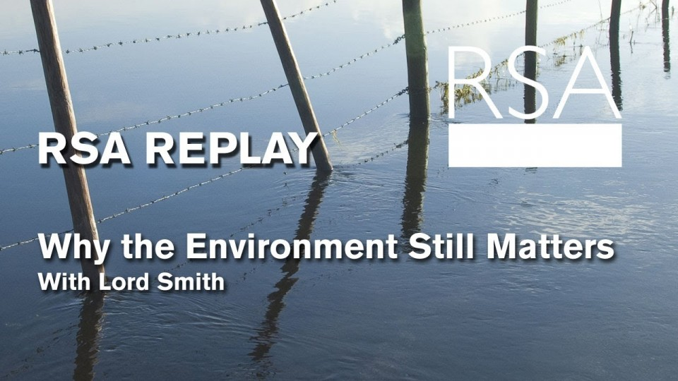 RSA REPLAY: Why the Environment Still Matters