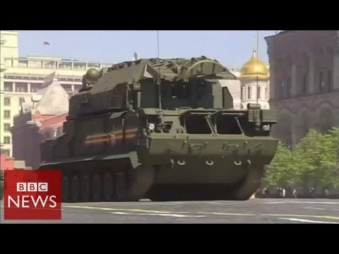 Russia's military might on show during Victory Day parade – BBC News