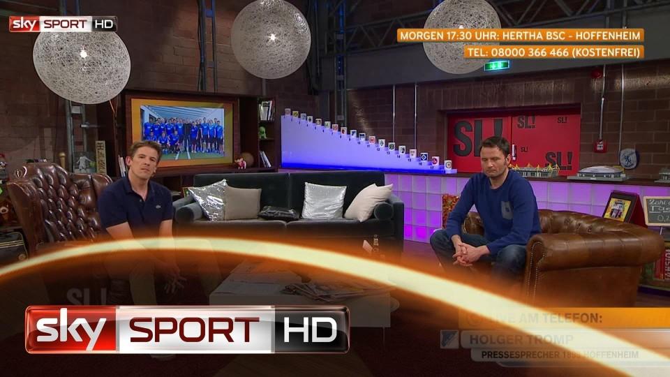 """Samstag LIVE!, 29. Spieltag: Tromp über Vukcevic: """"Schwer zu erzählen"""""""