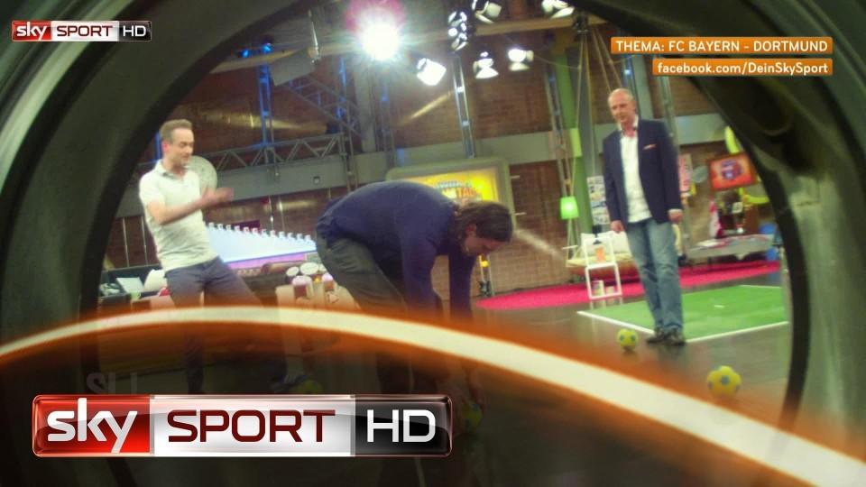 """Samstag LIVE!, 30. Spieltag: """"Super-Mario"""" Basler an der Waschmaschine"""