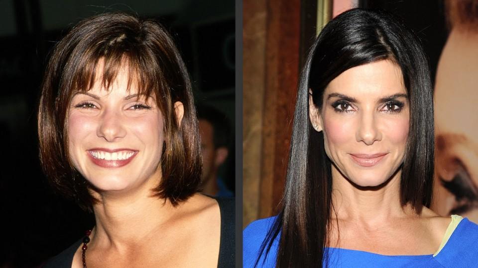Sandra Bullock's Changing Looks! – PEOPLE
