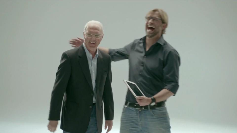 Sky Go Werbung: Klopp vs. Beckenbauer (MAKING OF)