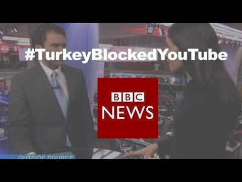 Social media reaction after #TurkeyBlockedYouTube – BBC News