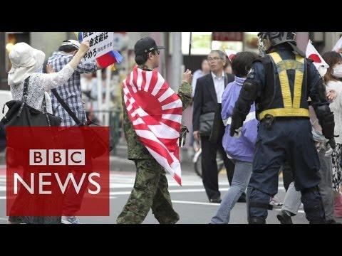 Social media tackles racism in Japan #BBCtrending – BBC News