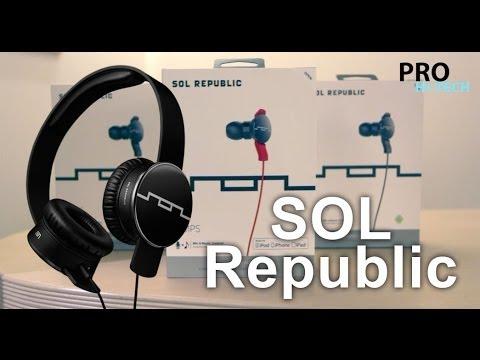 Презентация и обзор новых наушников SOL Republic от Pro Hi-tech
