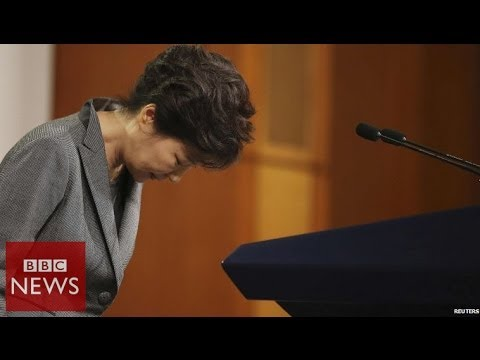 South Korea Ferry: Tearful president's TV apology – BBC News