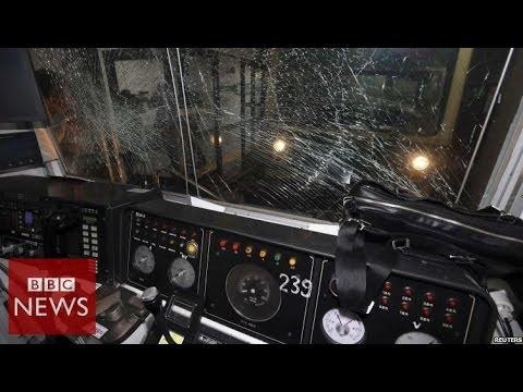 South Korea subway crash injures dozens in Seoul – BBC News
