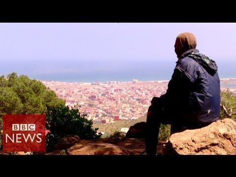 Spain Melilla migrants living on the edge of Europe – BBC News