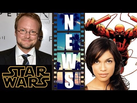 Star Wars Episode 8 with Rian Johnson, Rosario Dawson on Netflix's Daredevil – Beyond The Trailer