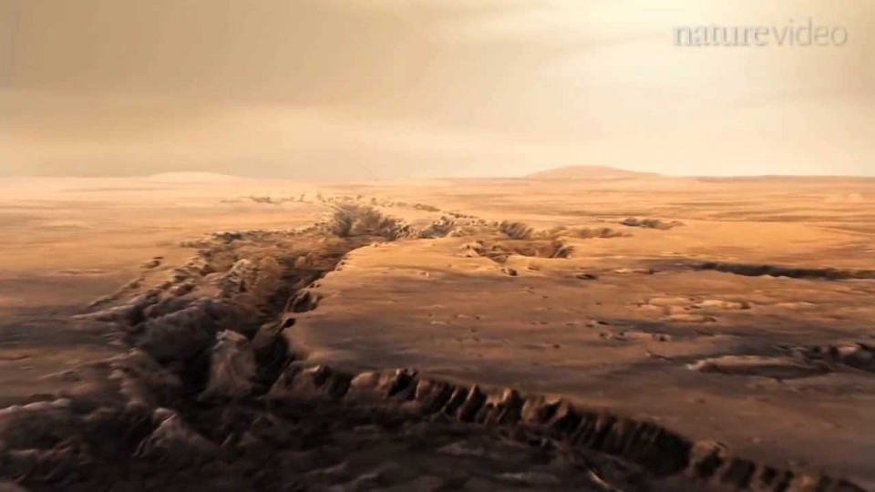 Supervolcanoes on Mars