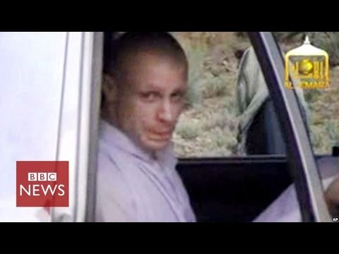 Taliban video of moment Bergdahl was freed – BBC News