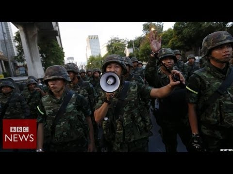 Thai army: 'We are neutral' – BBC News
