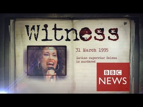 The day my pop star wife Selena was killed – Witness – BBC News
