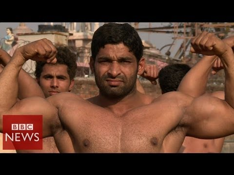 The Indian village famous for its bouncers – BBC News