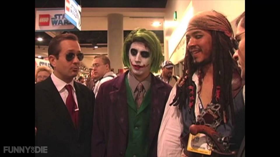 Thomas Lennon and Ben Garant in Nerd Alert: Comic Con 2008