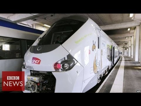 'Too fat' for platforms! $20bn train blunder – BBC News