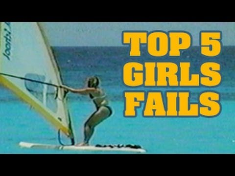 Top 5 Girls Fails Countdown : Ooops Funny Home Videos