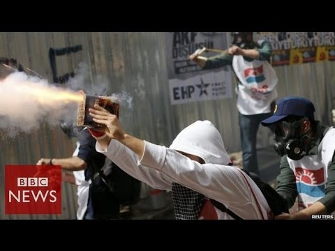 Turkey May Day protests at Istanbul's Taksim Square – BBC News
